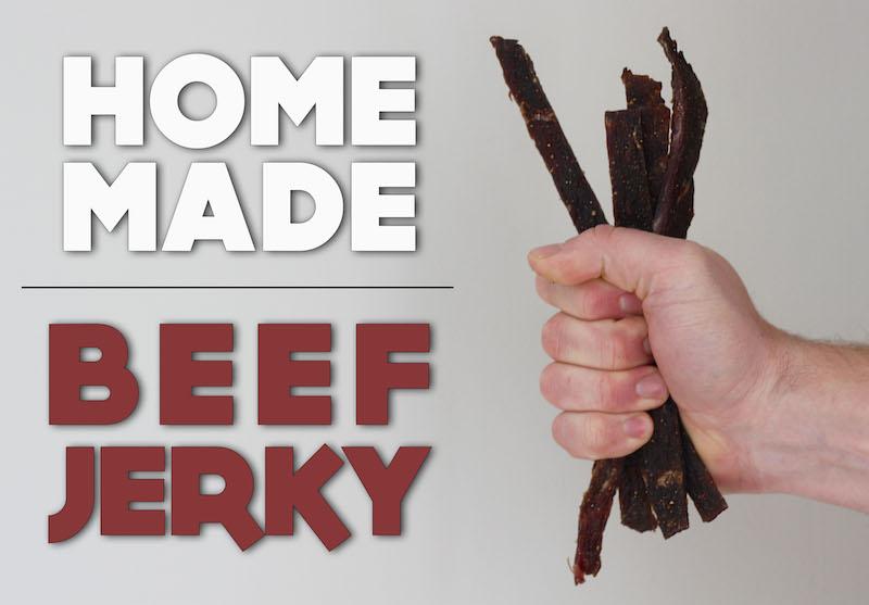 Homemade Beef Jerky (Gluten Free, Paleo Friendly)