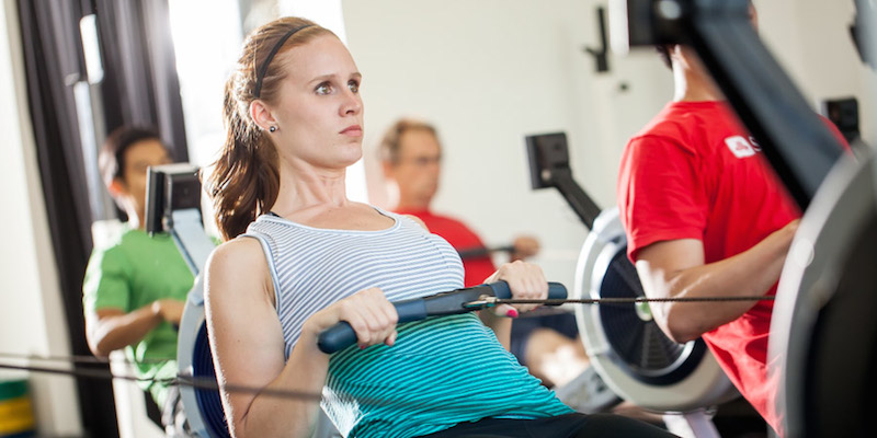 How to set yourself up PROPERLY on the Concept2 Rower