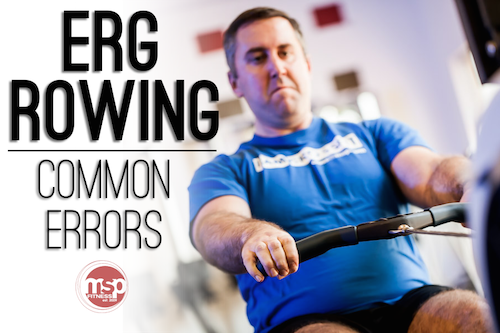 The THREE Biggest Errors made while Rowing on a Concept2 Erg