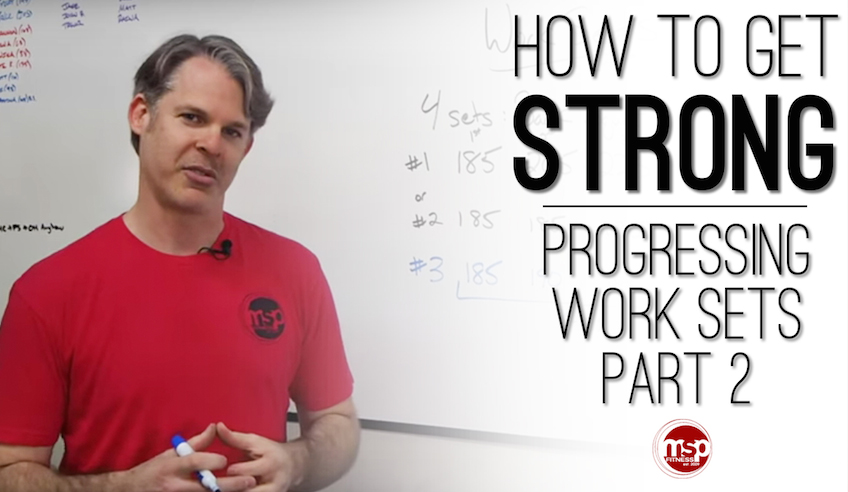 How to get STRONG | Progressing Work Sets (Part 2)