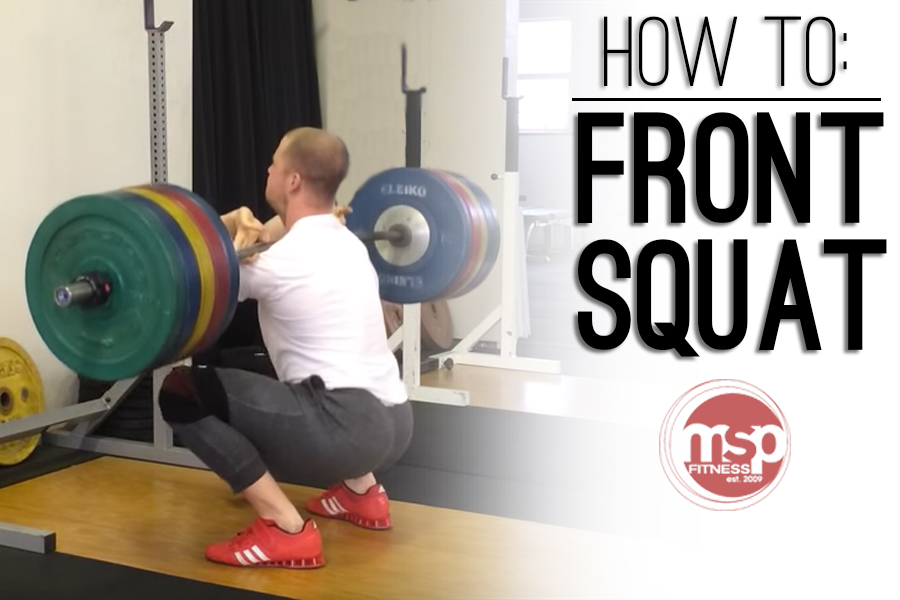 How to FRONT SQUAT | An Exercise Demonstration