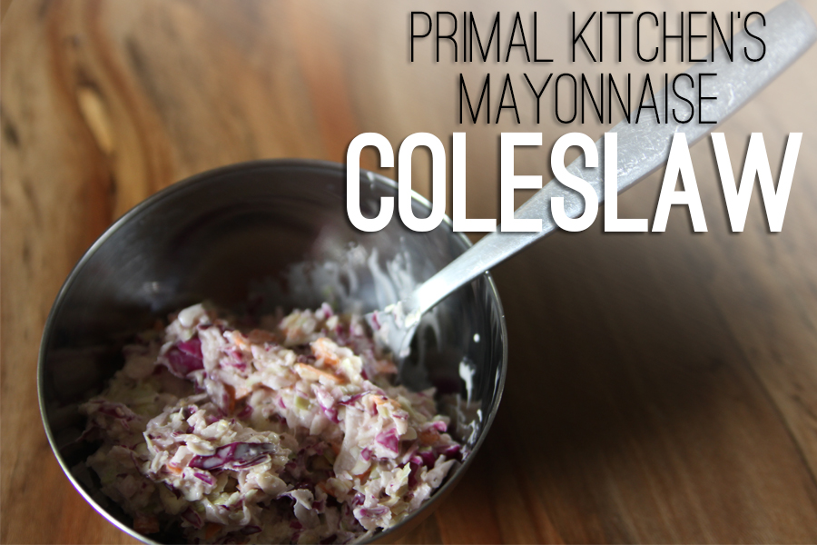 Primal Kitchen's Mayonnaise Coleslaw | Paleo, Primal, Gluten Free Friendly