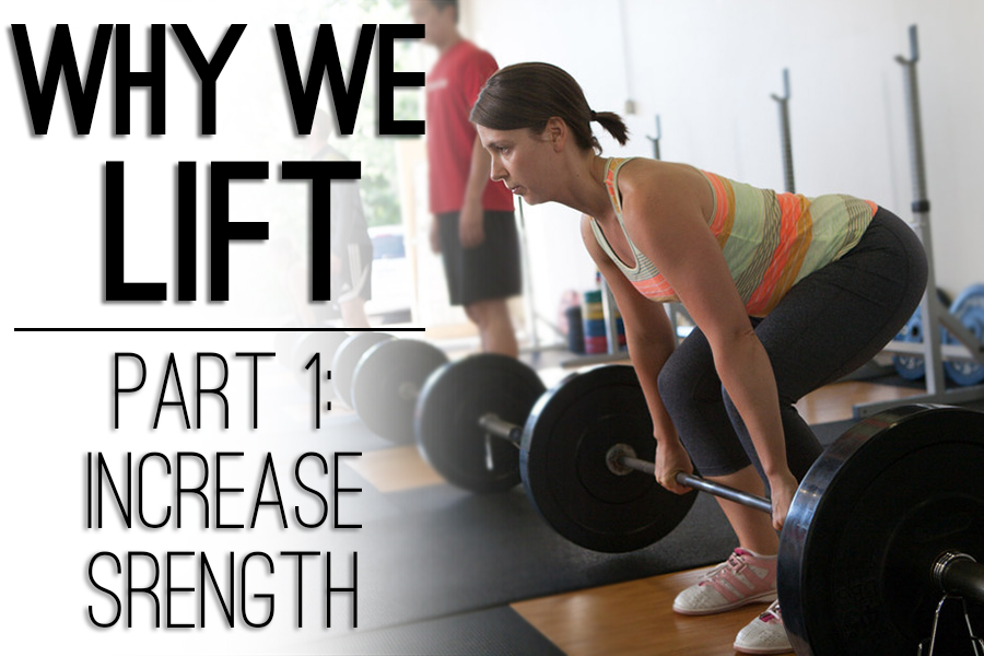 Why We LIFT Part 1: Increase Strength