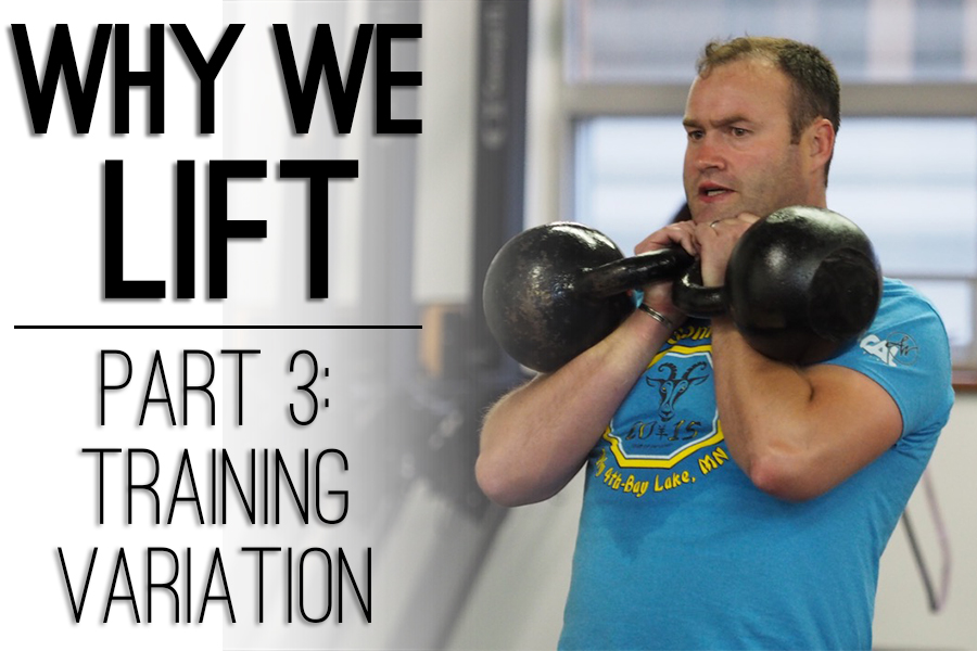 Why We LIFT Part 3: Training Variation