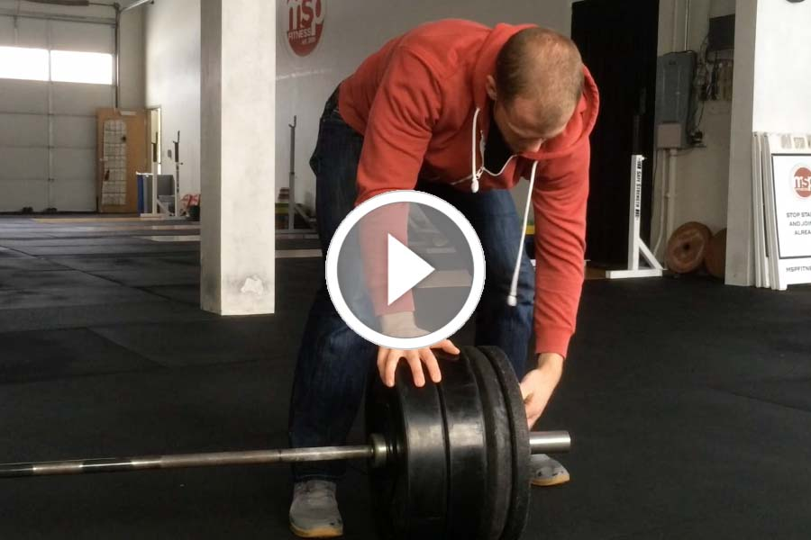 A Better Way to Load a Barbell | How to load up a barbell, saving strength for your lifts