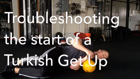 Troubleshooting the Start of a Turkish Get Up (TGU)