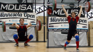 Michael Competing in the Minnesota Open