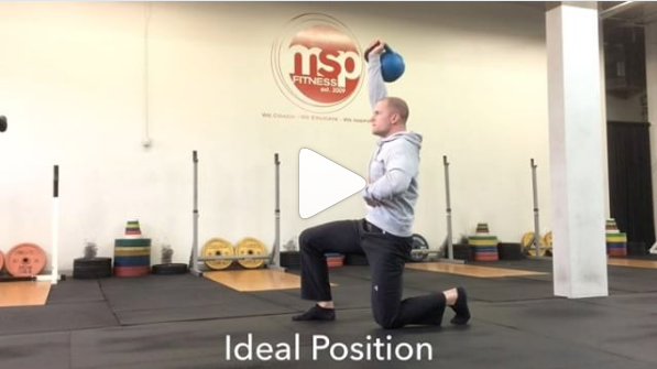 Troubleshooting the Transition of a Turkish Get Up (TGU)