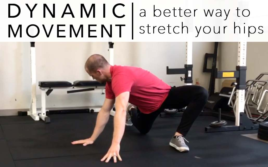 "A Better Way to ""Stretch"" Your Hips 